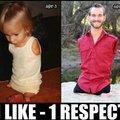1 LIKE = 1 RESPECT