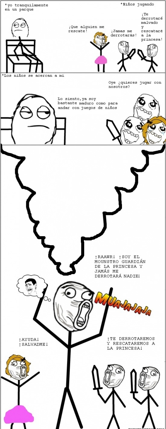 Infancia:) - meme