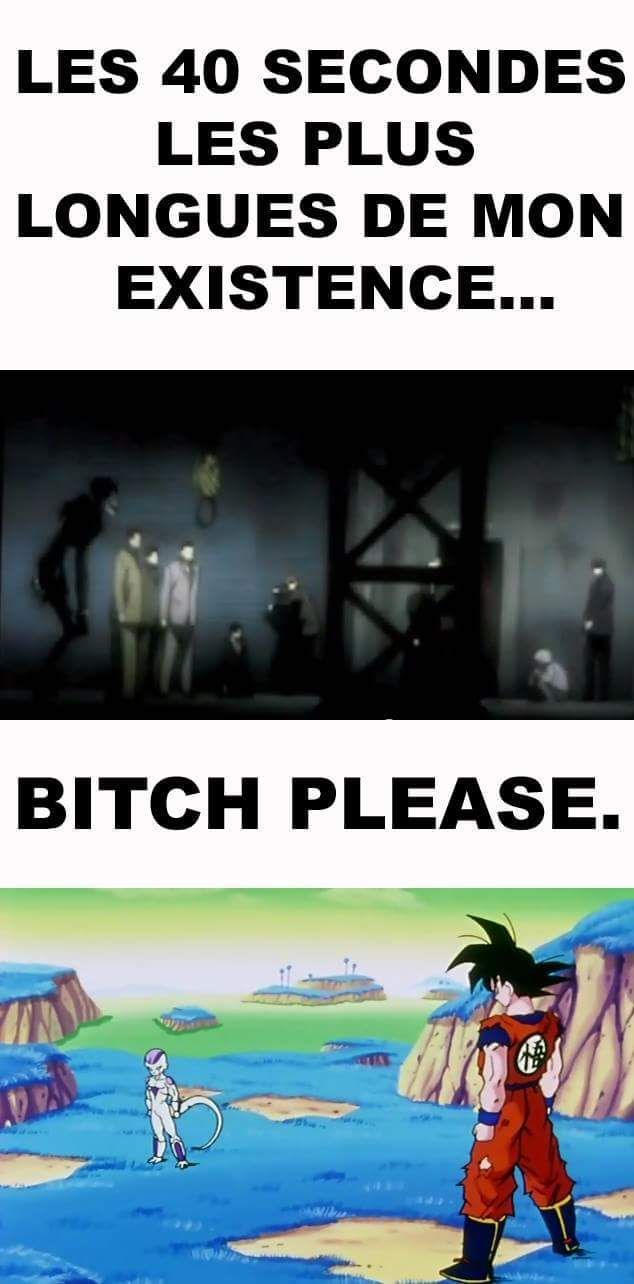death note vs Dragon Ball Z - meme