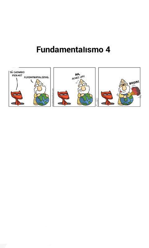 fundamentalismo(͡° ͜ʖ ͡°) - meme