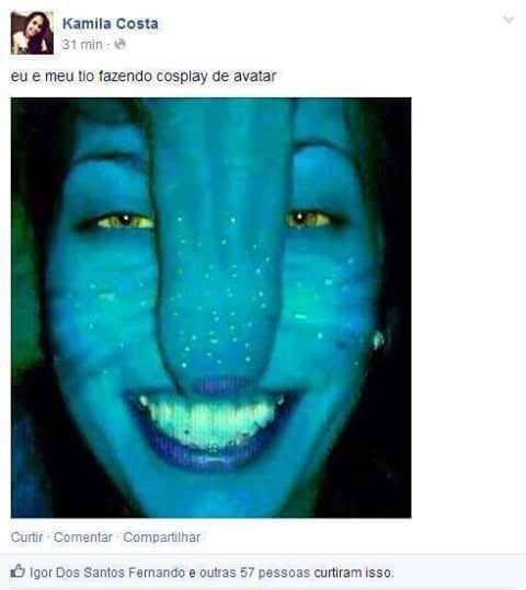 Avatar kkk - meme