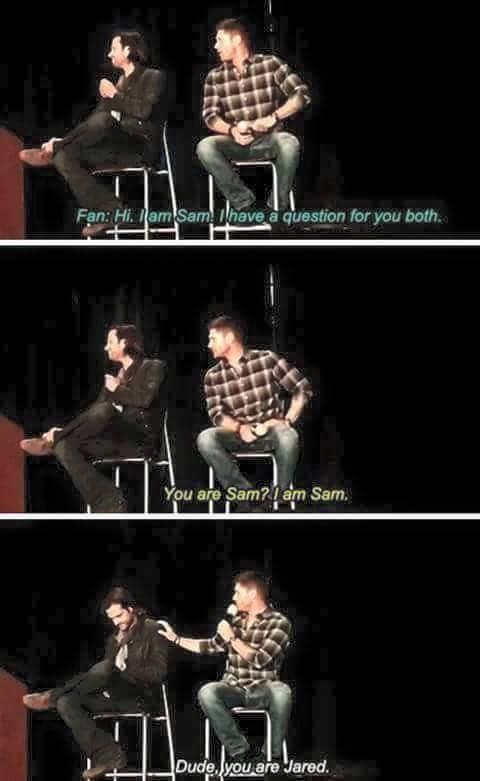 Sometimes Jared just gets confused. - meme