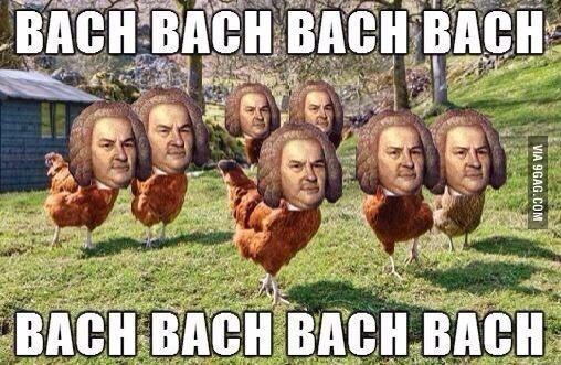 baaaaaaach bach bach - meme