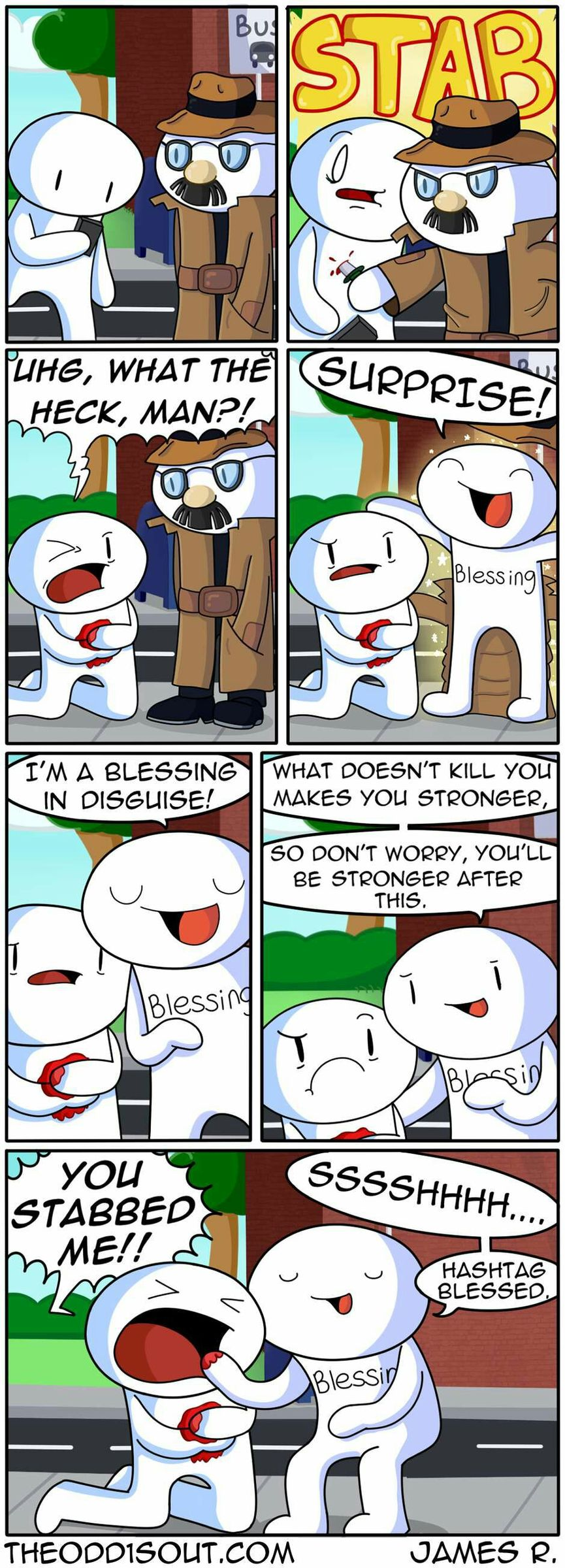 a blessing in disguise - meme