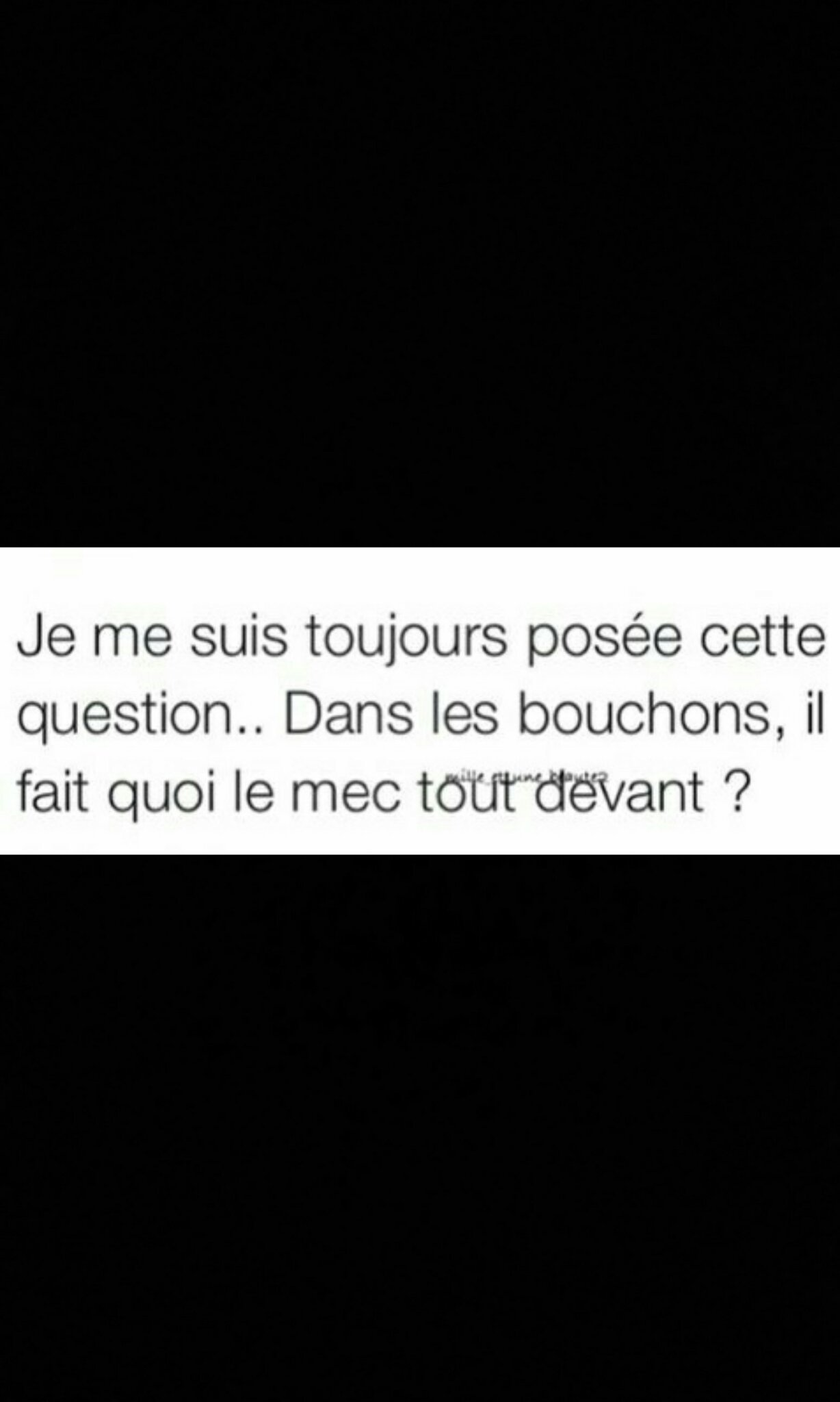 Tel est la question... - meme