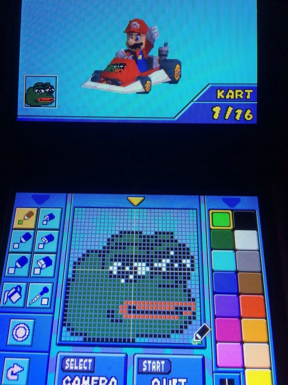 Pepe Kart DS - meme