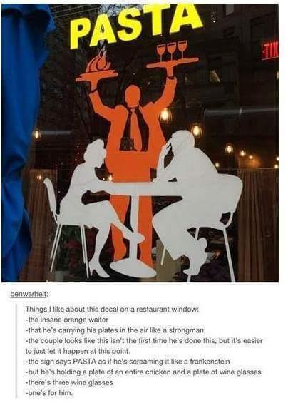 Waiter - meme