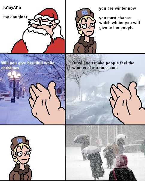 Winter-chan Come! - meme