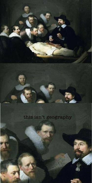 Geography? - meme