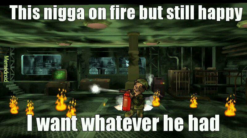 Fire - meme