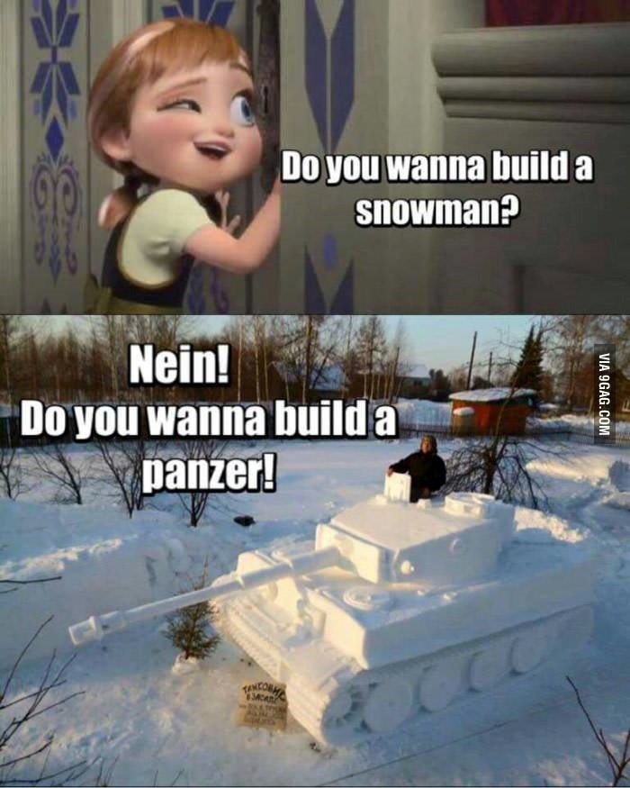 NEIN, PANZER FOR THE WIN - meme