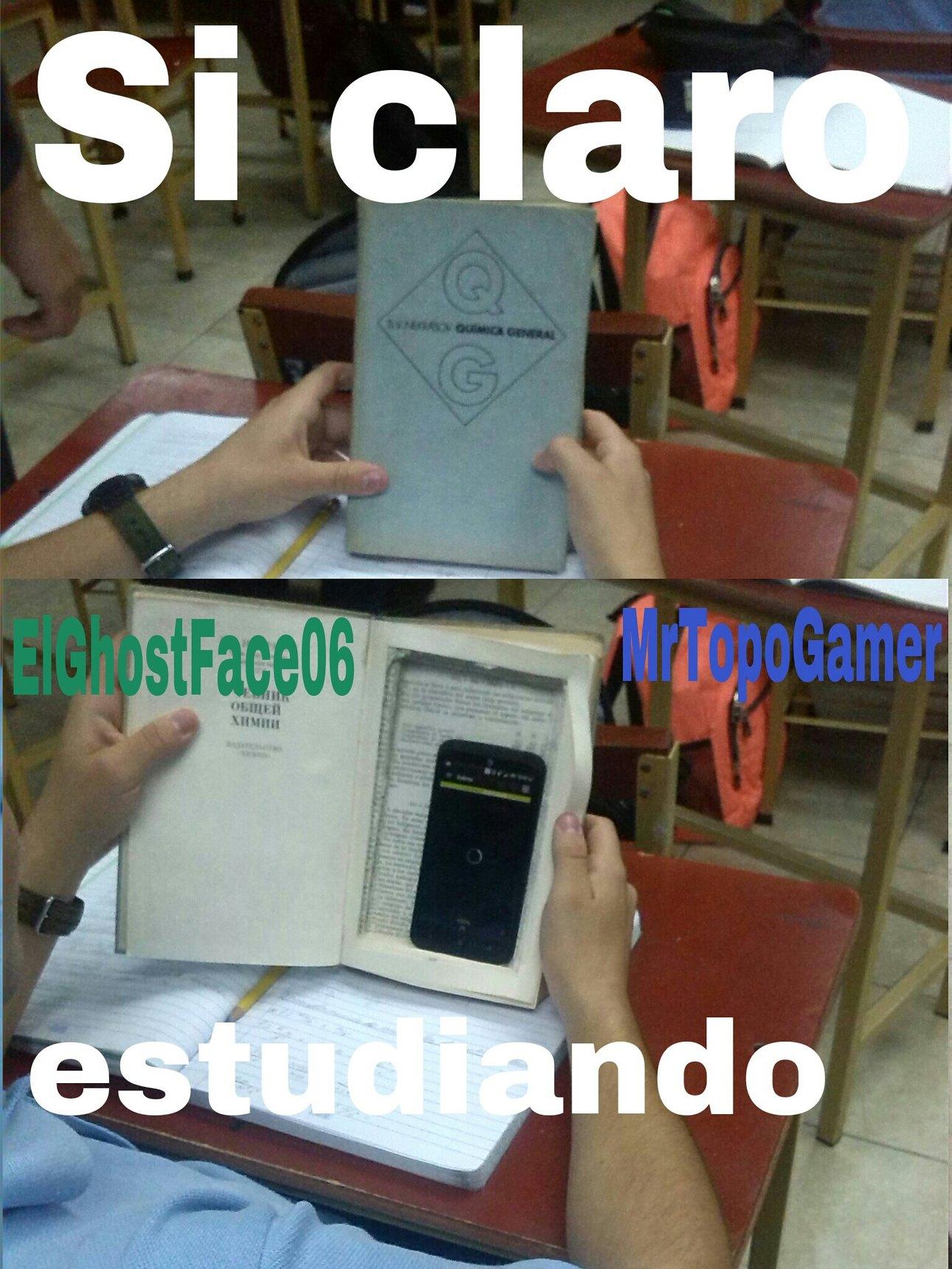 1000% Original con colaboración de ElGhostFace06  C: - meme