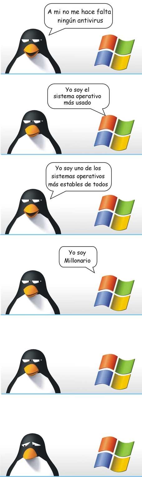 Linux vs Windows - meme