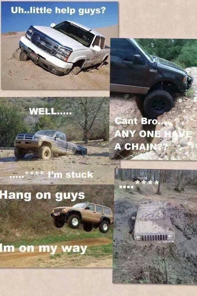 Truck problems - meme