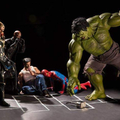 Super heróis em situações hilárias #5