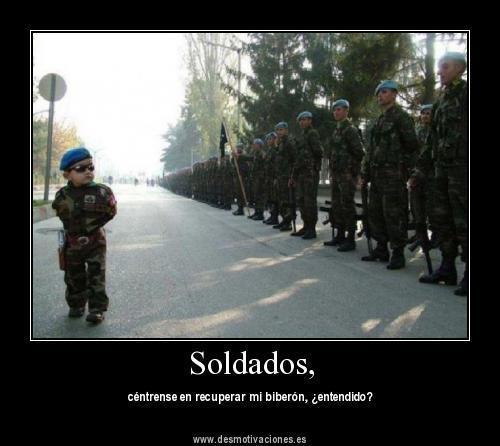 Soldados - meme