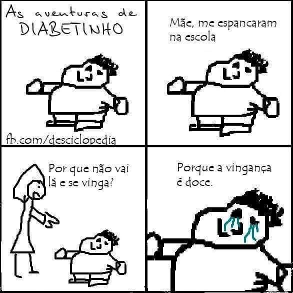 Diabetinho - meme