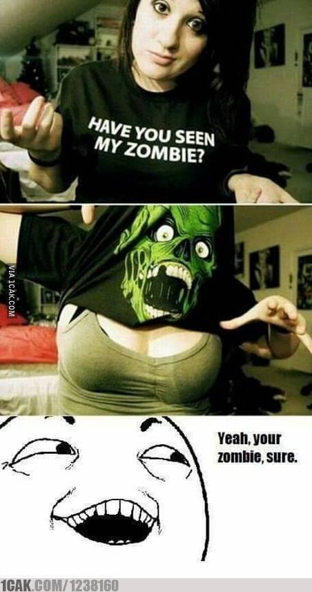 Zombies... - meme