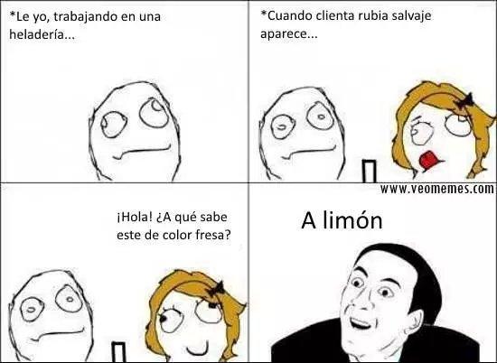 A limón - meme
