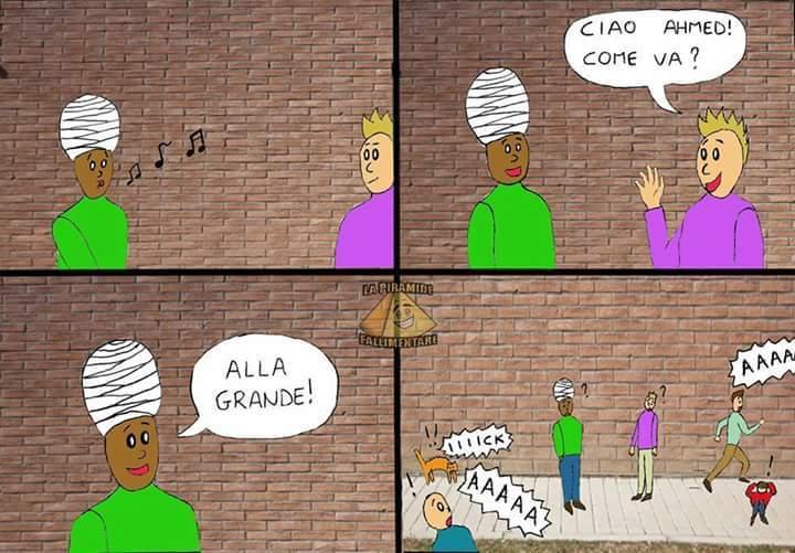 Allahu akbar=Allah è grande - meme