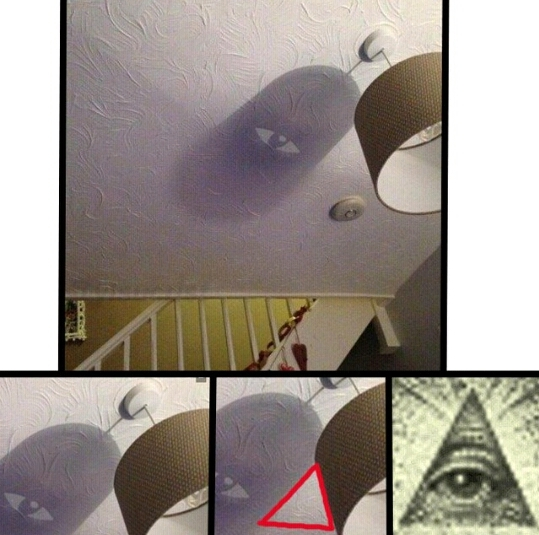 Iluminatis everywhere - meme