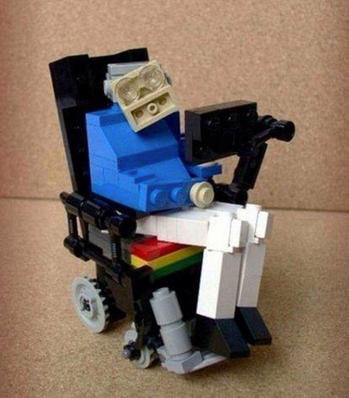 Lego version of Stephen Hawking - meme