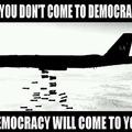 """la """"démocratie"""" Americaine."""