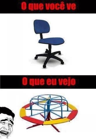 Cadeira - meme