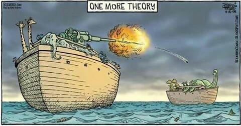 Une théorie de plus sur la disparition des dinosaures - meme