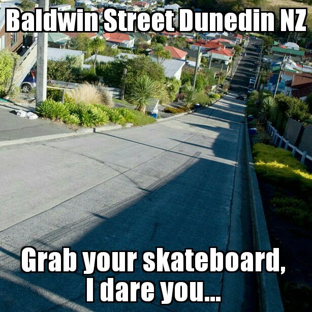 Someone died rolling down this in a wheelie bin once... - meme