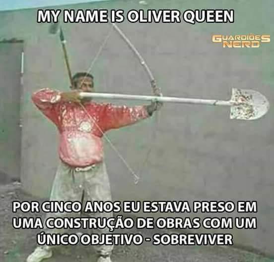 Pedreiro Arrow - meme