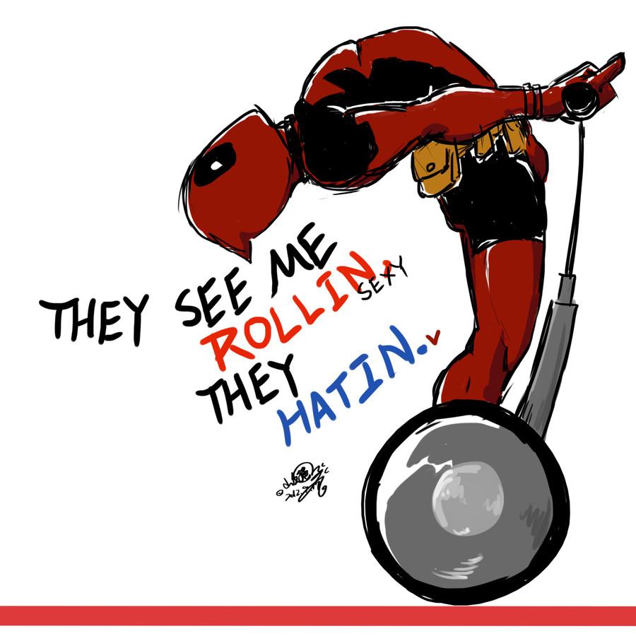 Oh Deadpool... - meme