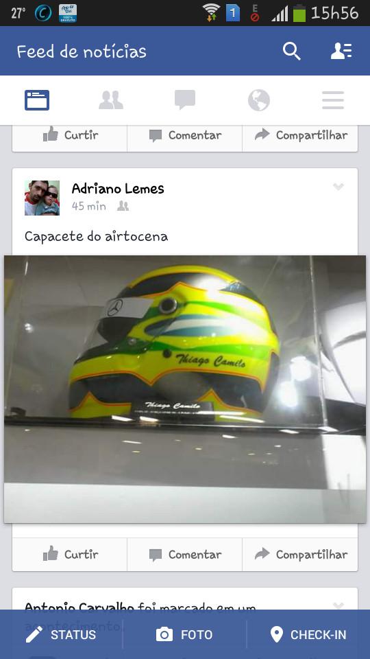 Thiago Camilo agora é airton senna,,, - meme