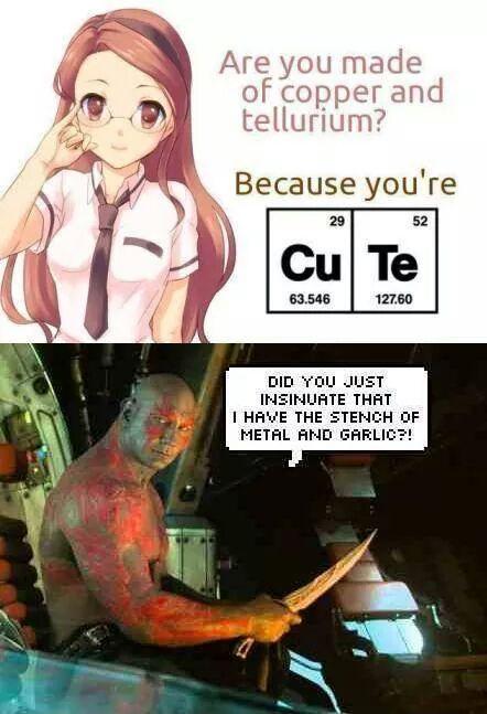 Mmmm metal and garlic - meme