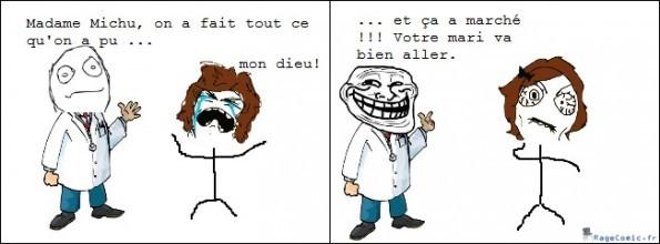 Monsieur Troll ! - meme