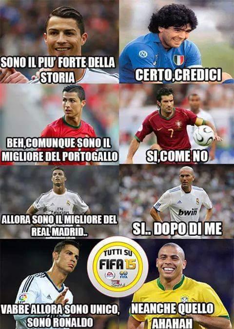 Sad Ronaldo  - meme