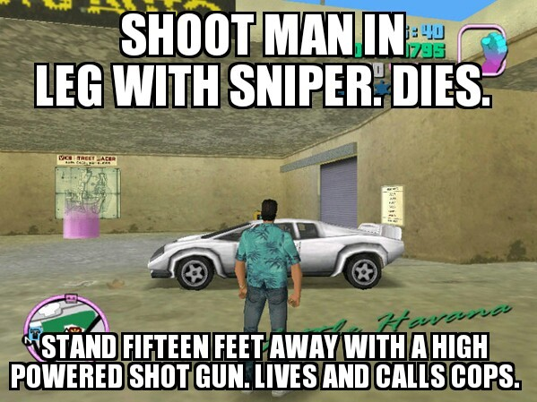 GTA V logic - meme