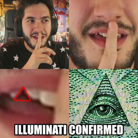 Wismichu iluminati!!! - meme