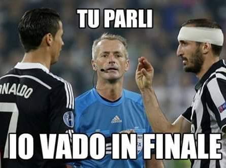Ciao ronaldo - meme