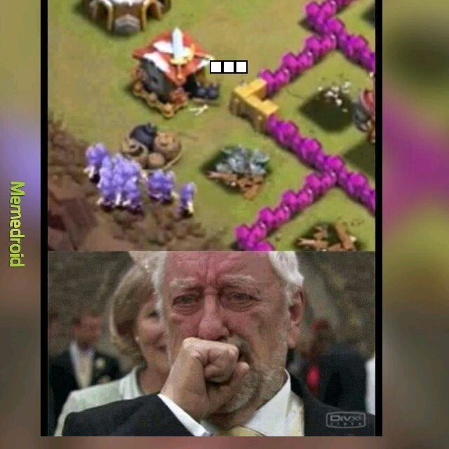 Clash of clans - meme