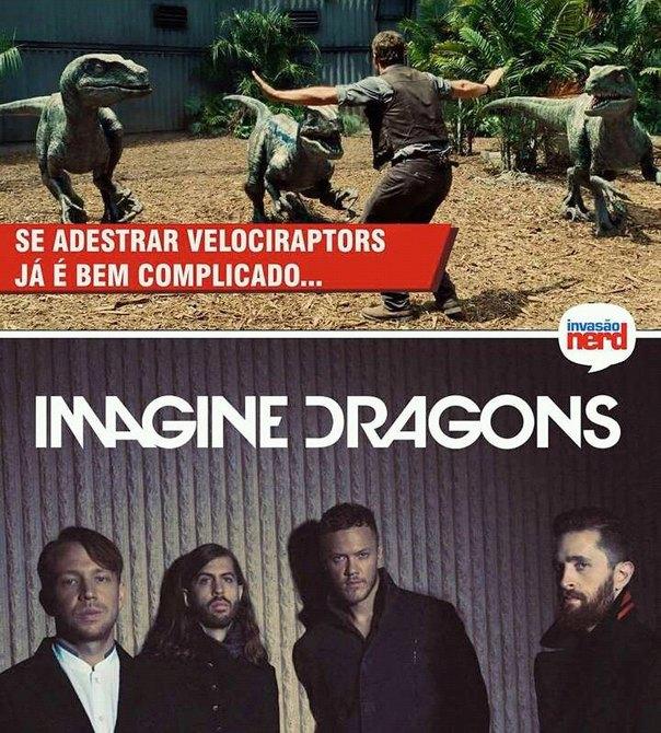 Imagine Dragons♥ - meme