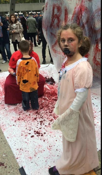 Plus tard , je veux que mes enfants aussi aiment les films d'horreur - meme