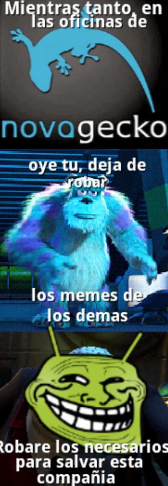 Original :o no me copies o te mato >:( - meme