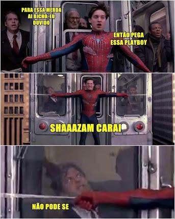 Shazam carai - meme