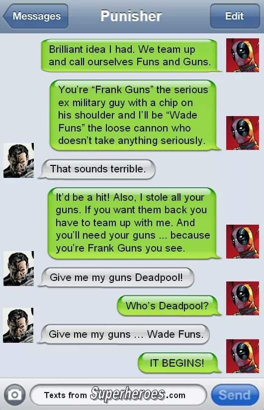 To my friend dead pool - meme
