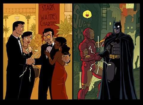 Bats o ironman - meme