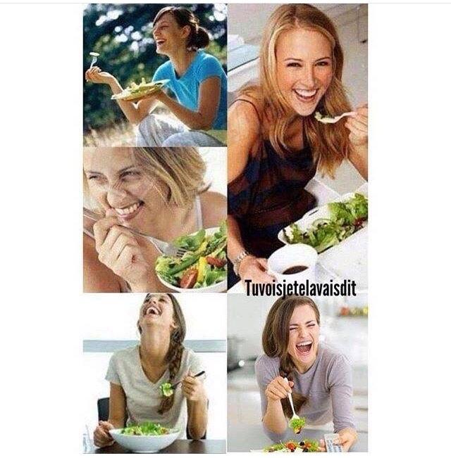 quand la salade te raconte une blague - meme