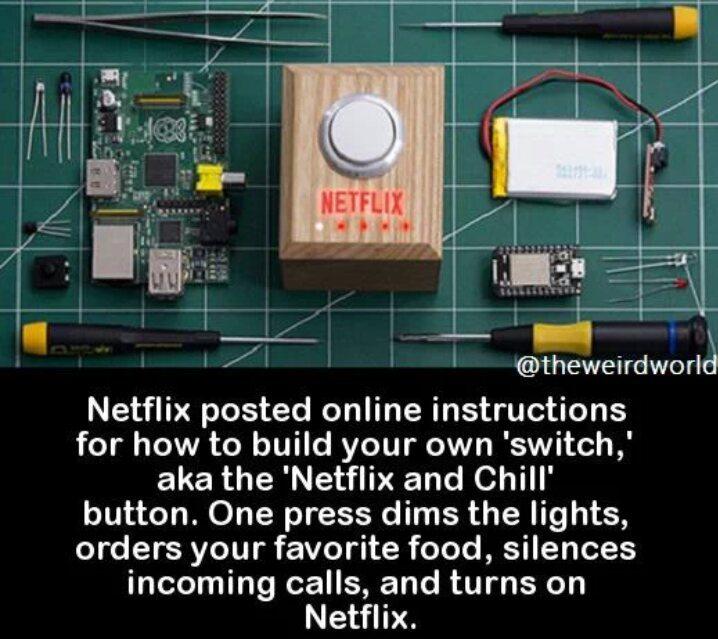Netflix and chill - meme