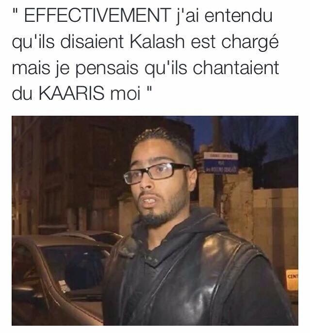 Kalash est charger  - meme