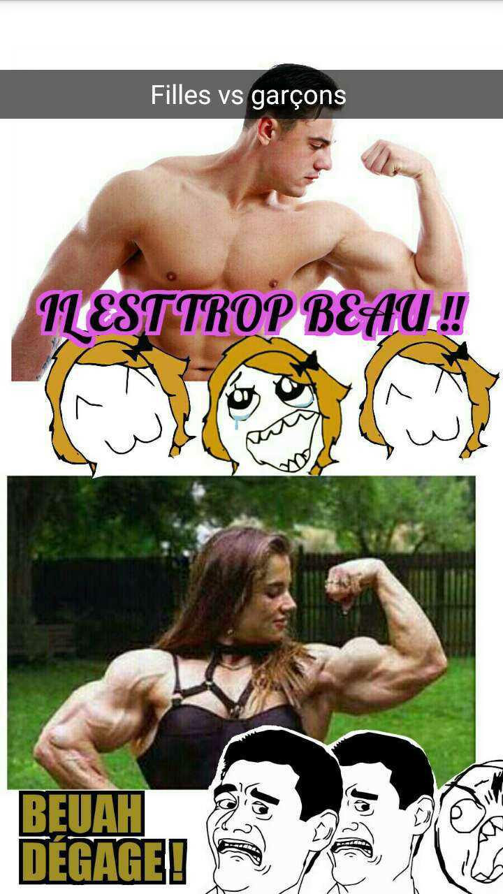 Du muscle de deux manières - meme